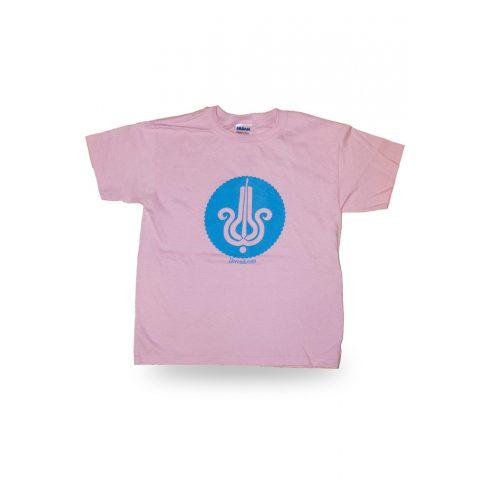 Pink dorombos póló - gyerek