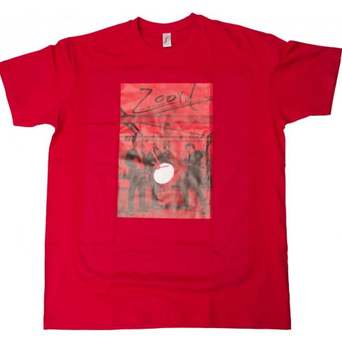 Zoord póló - red