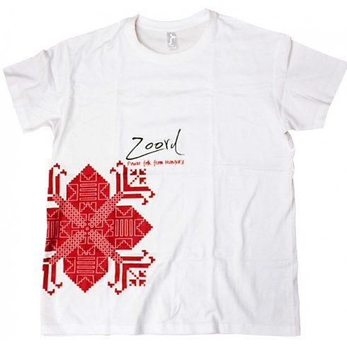 Zoord póló - white
